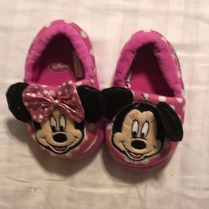 Other - Size small5/6 Minnie and Mickey slippers